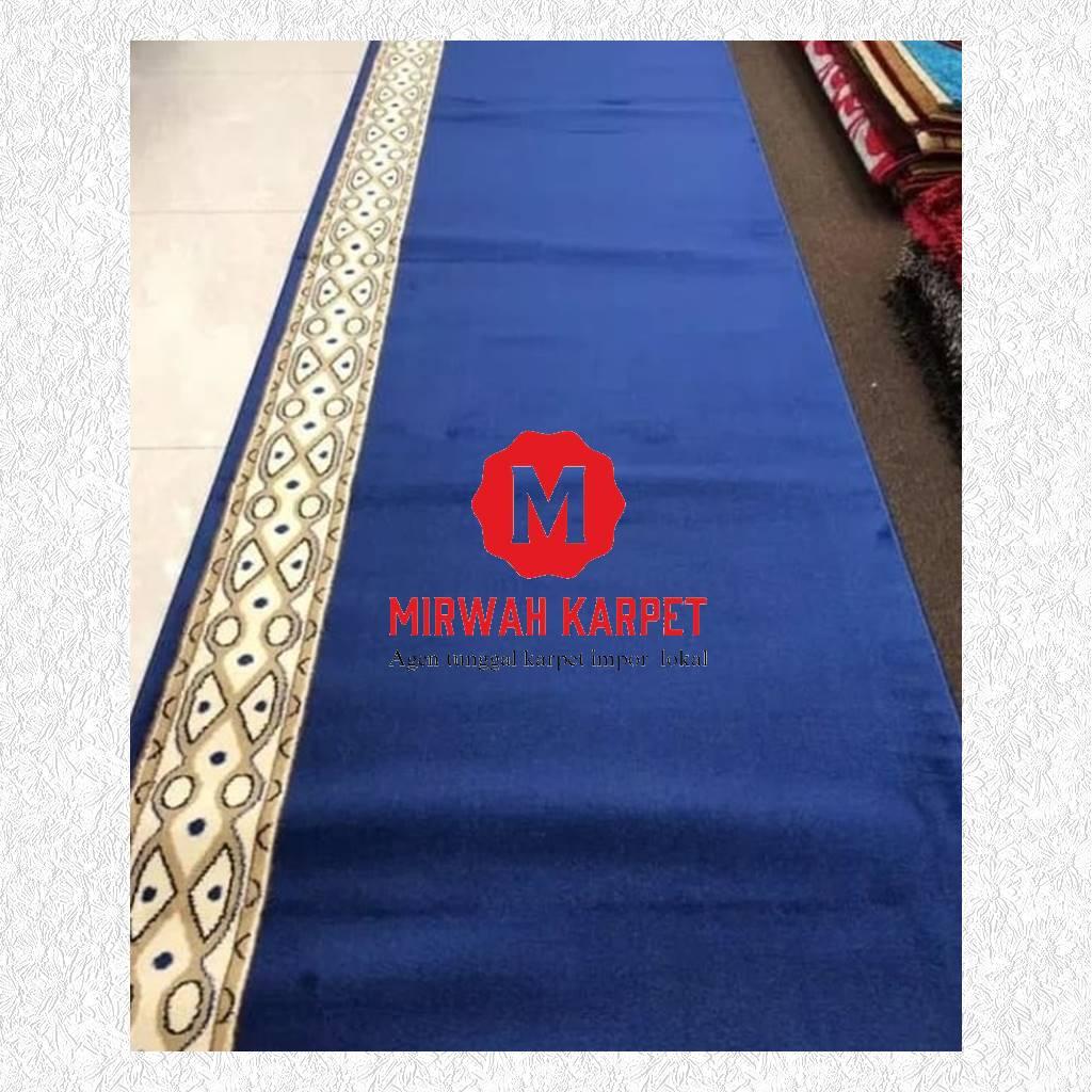 karpet masjid grad b kelas 2 biru