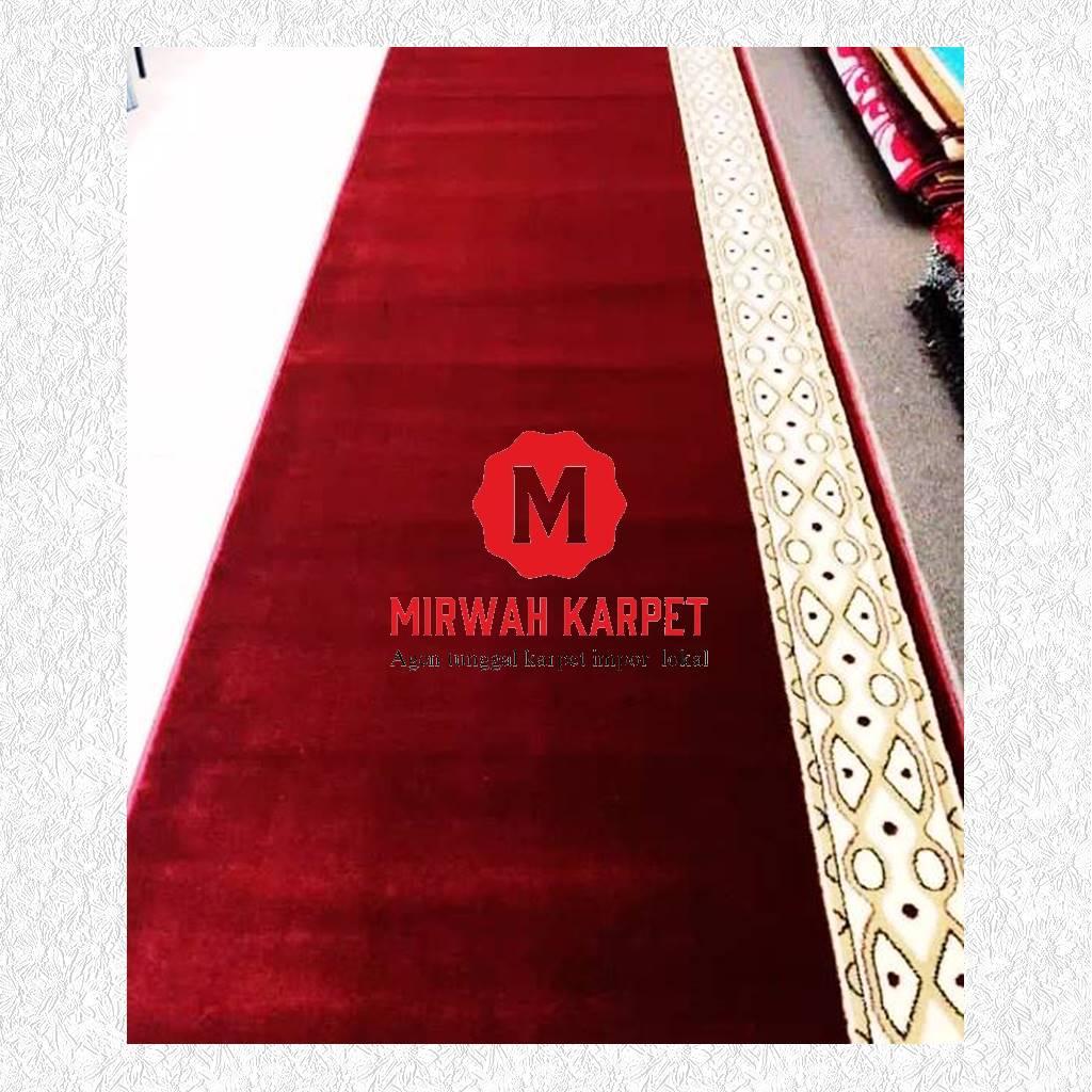 karpet masjid grad b kelas 2 merah