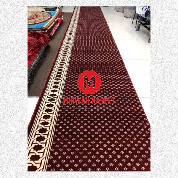 Karpet Blue Mosque merah titik