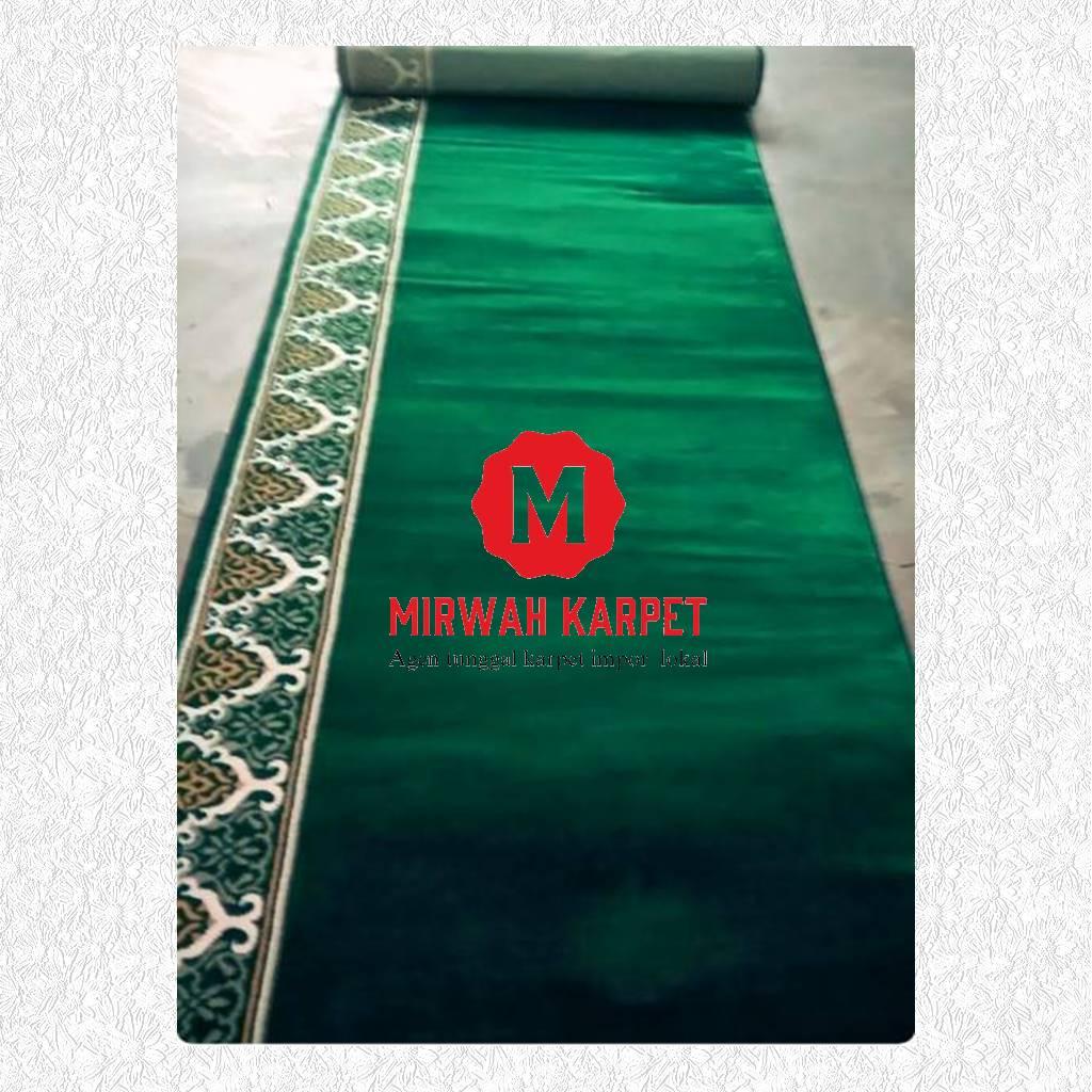 karpet masjid grad d kelas 2 hijau
