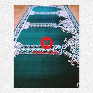 karpet masjid standar hijau