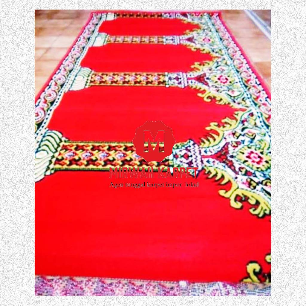 karpet masjid standar merah