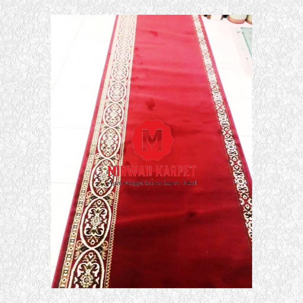karpet masjid grad b merah