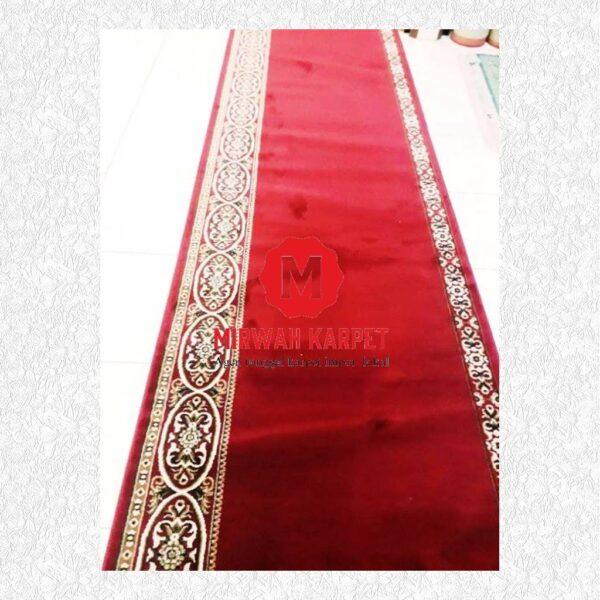 Karpet Mecca Merah polos