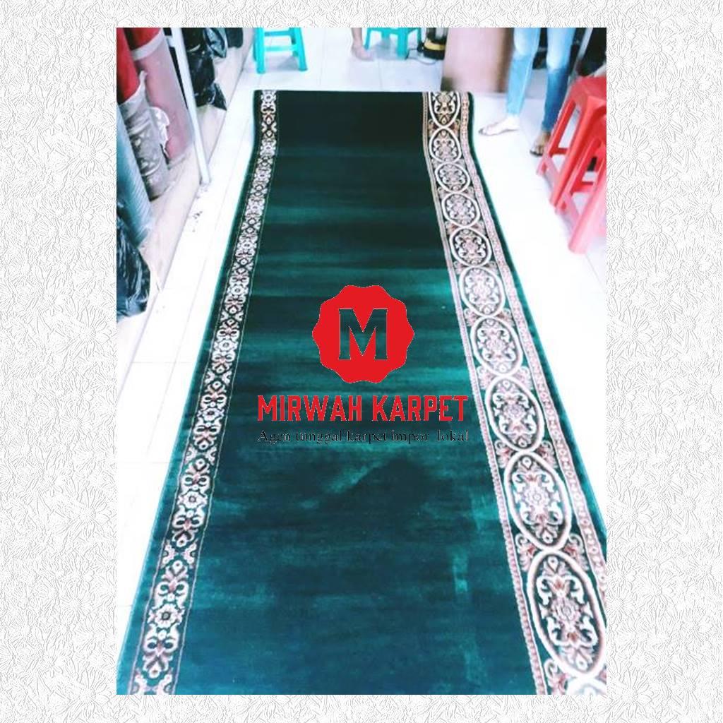karpet masjid grad b hijau
