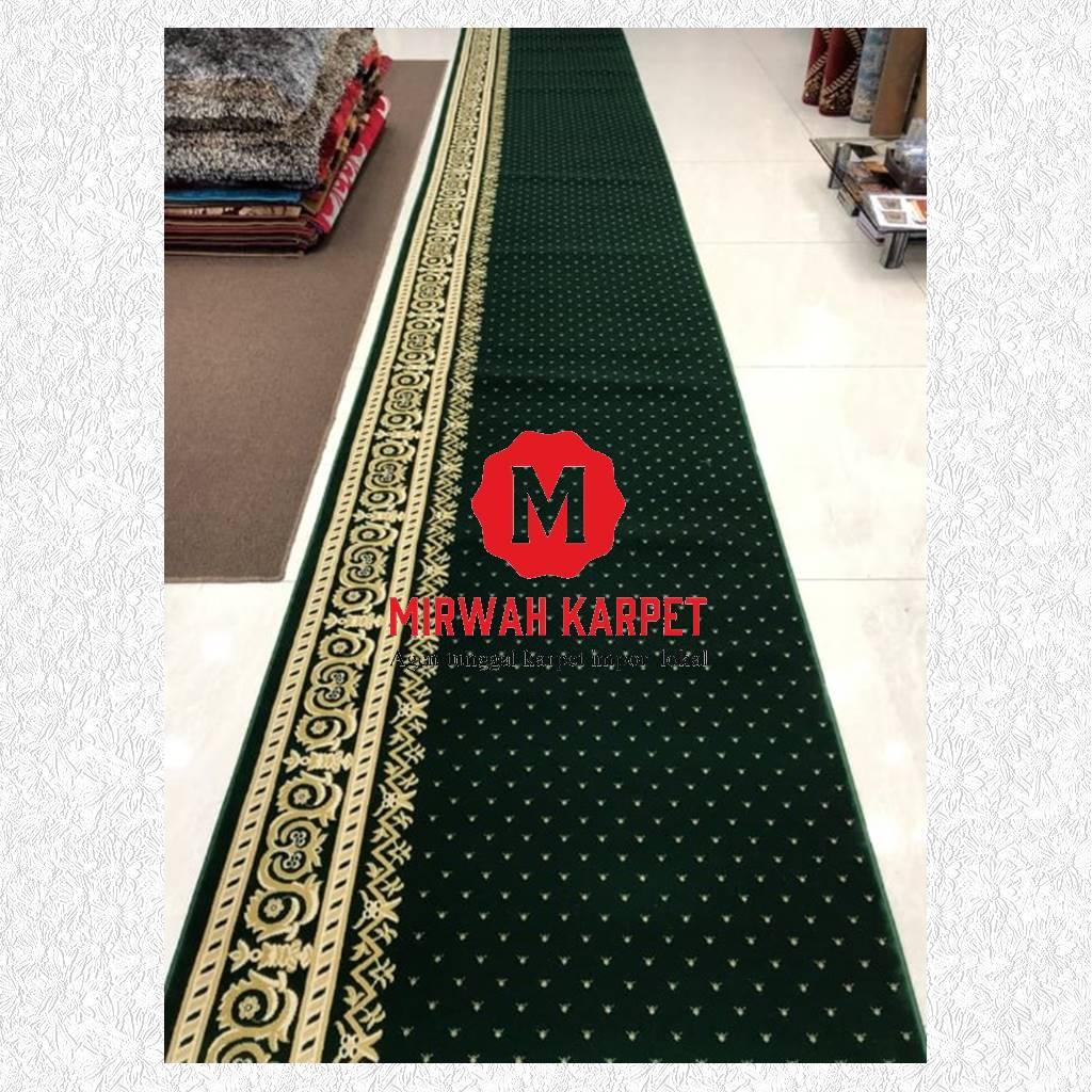 karpet masjid grad a hijau