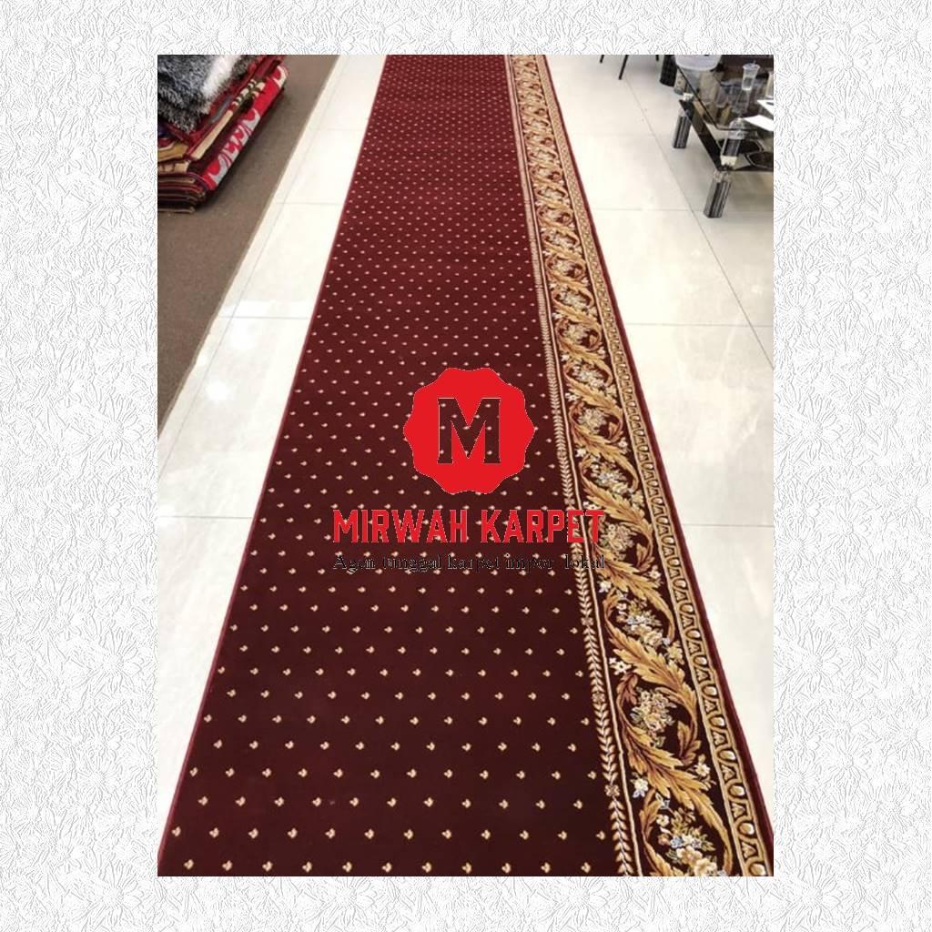 karpet masjid grad premium merah
