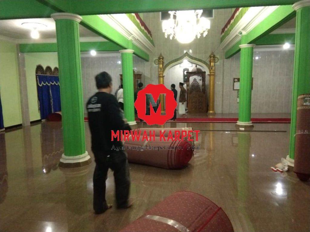 karpet masuk masjid