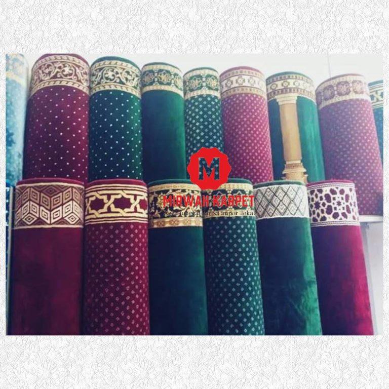 berbagai macam karpet masjid
