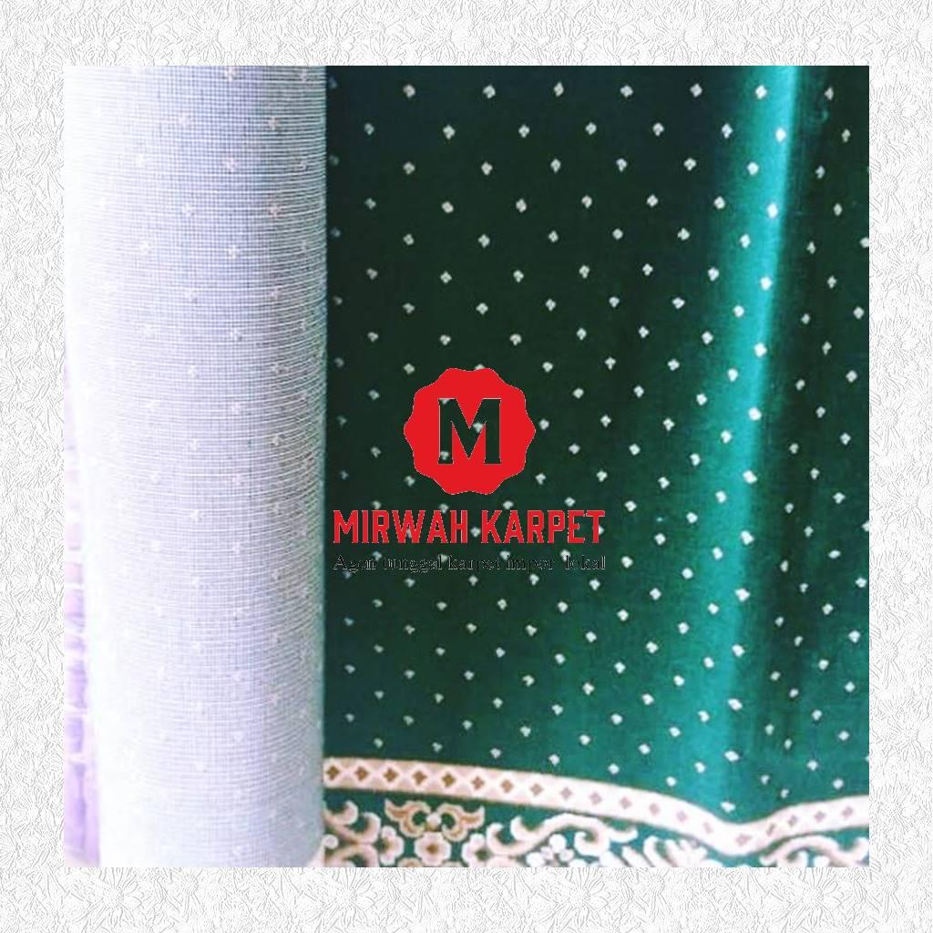 karpet masjid grad c hijau