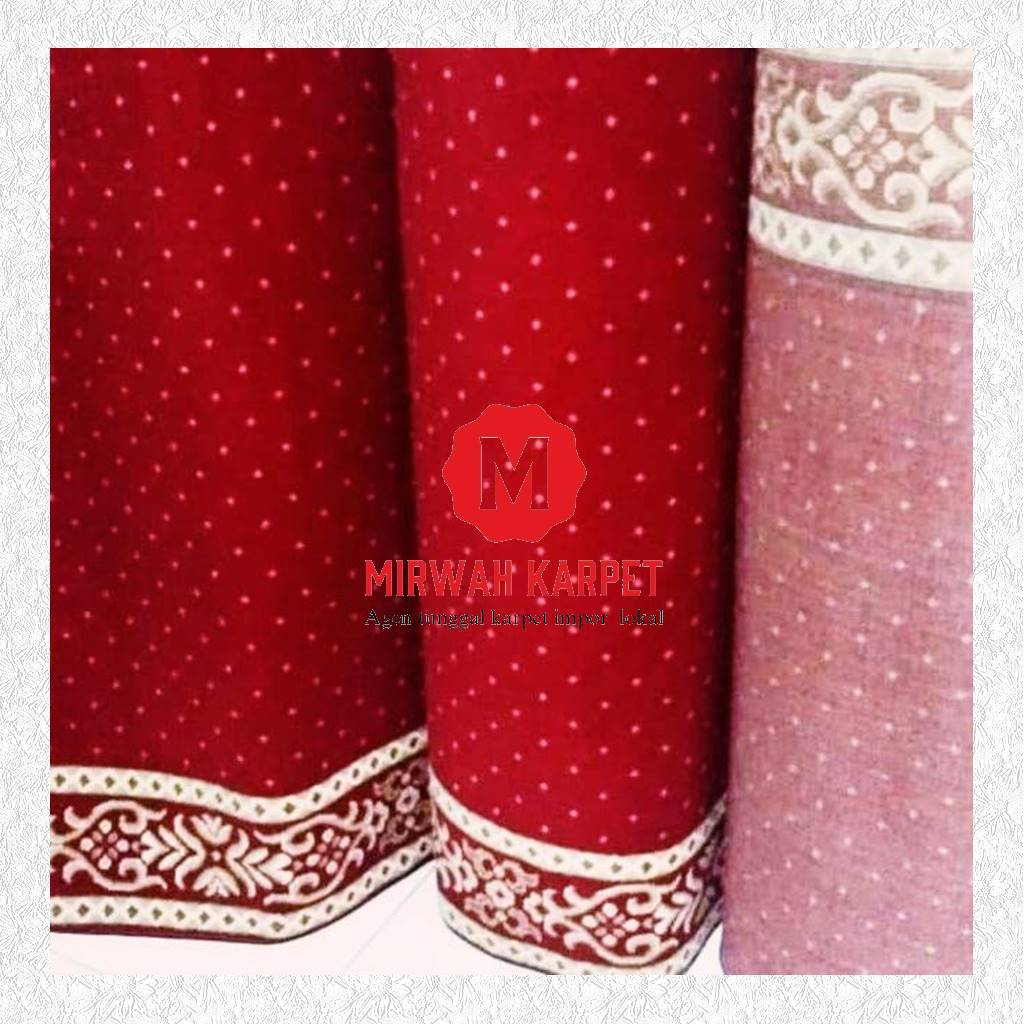 karpet masjid grad d merah