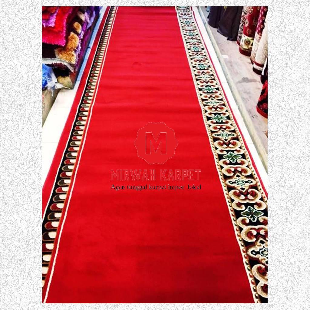 karpet masjid grad c merah
