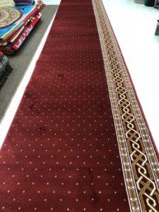 karpet masjid al aqsa merah