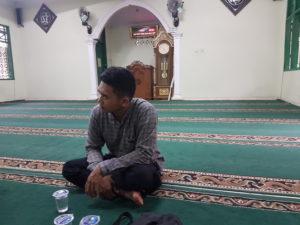 pemasangan di masjid al kautsar Bojong gede Bogor