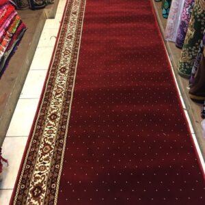karpet masjid grand mosque merah