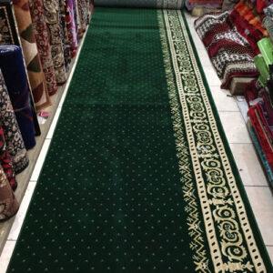 karpet masjid royal tebriz hijau