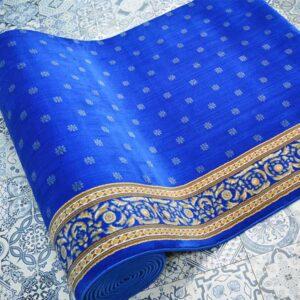 Karpet Masjid Soft Yaren Biru Bintik2