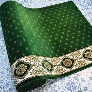 Karpet Masjid Soft Yaren Hijau