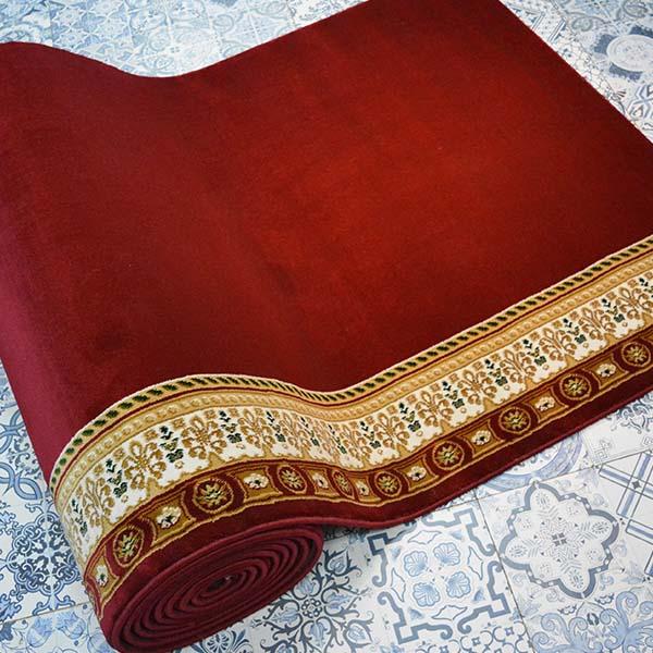 Karpet Masjid Soft Yaren Merah