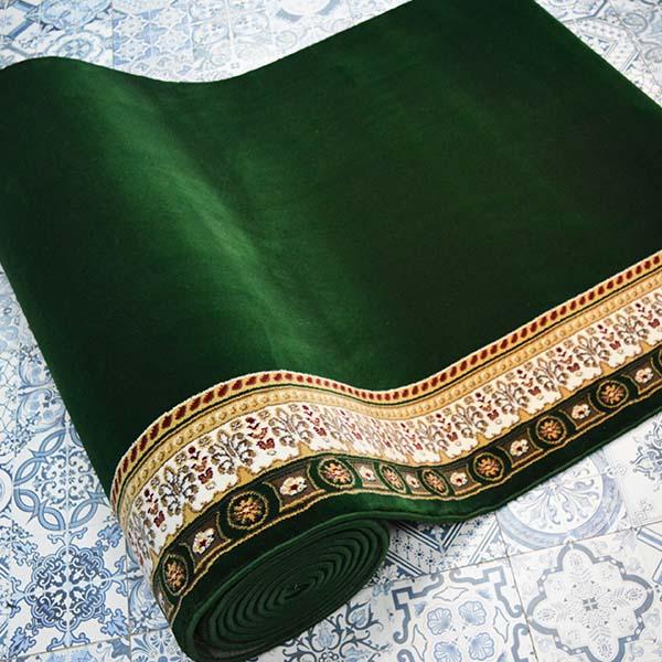 Karpet Masjid Soft Yaren hijau3