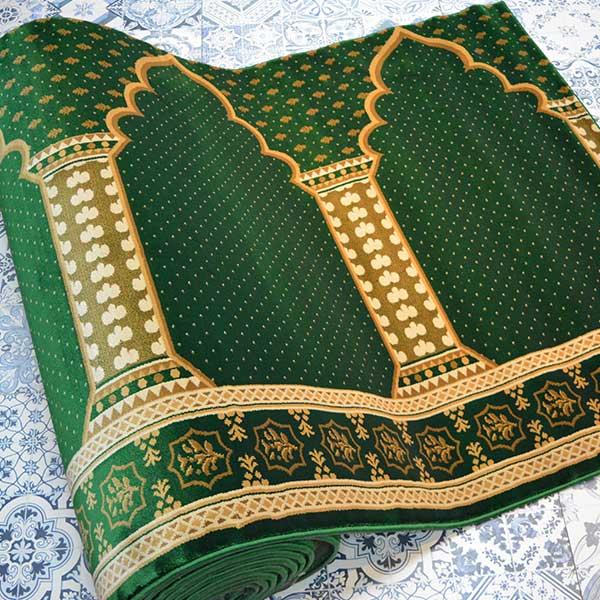 Karpet Masjid Suleyman Hijau bintik4