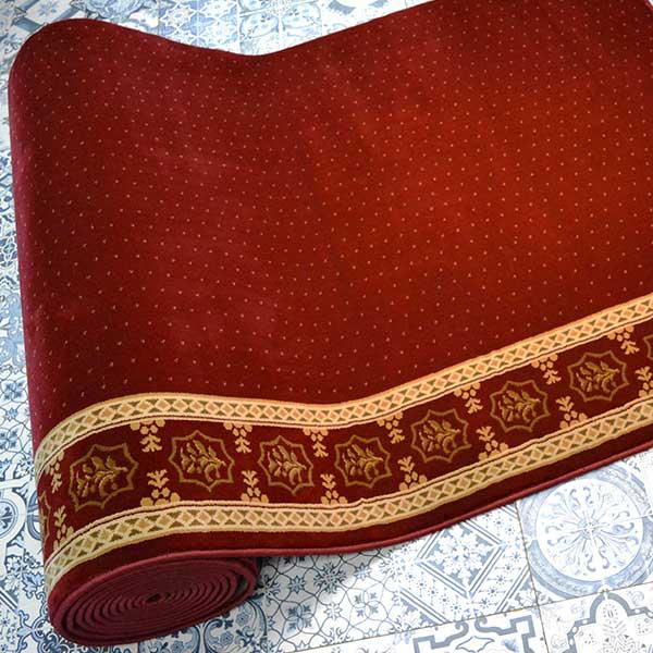 Karpet Masjid Suleyman Merah bintik3