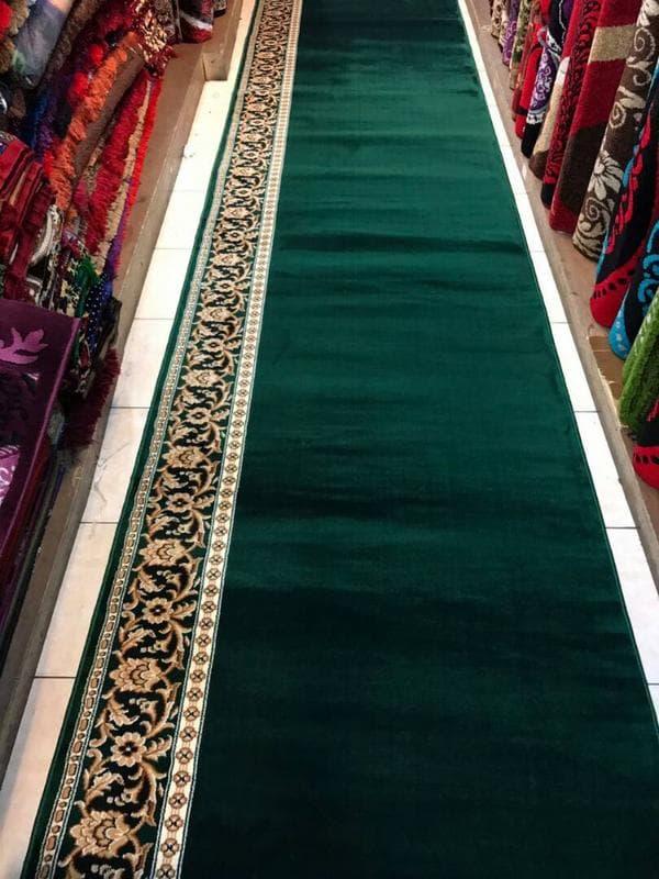 Karpet new blue mosque hijau
