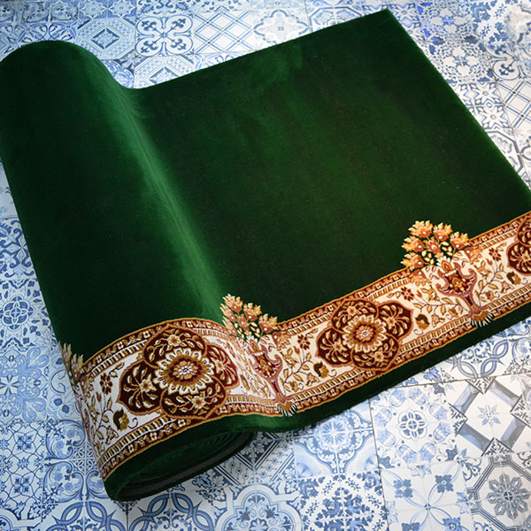 Karpet masjid Century hijau