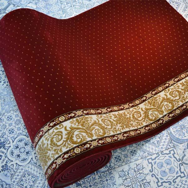 Karpet masjid Century merah bintik