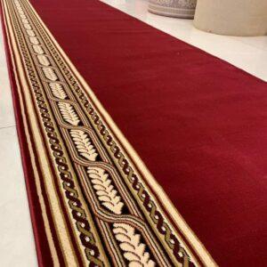 karpet masjid turki tajmahal merah