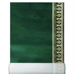 karpet masjid al imam hijau