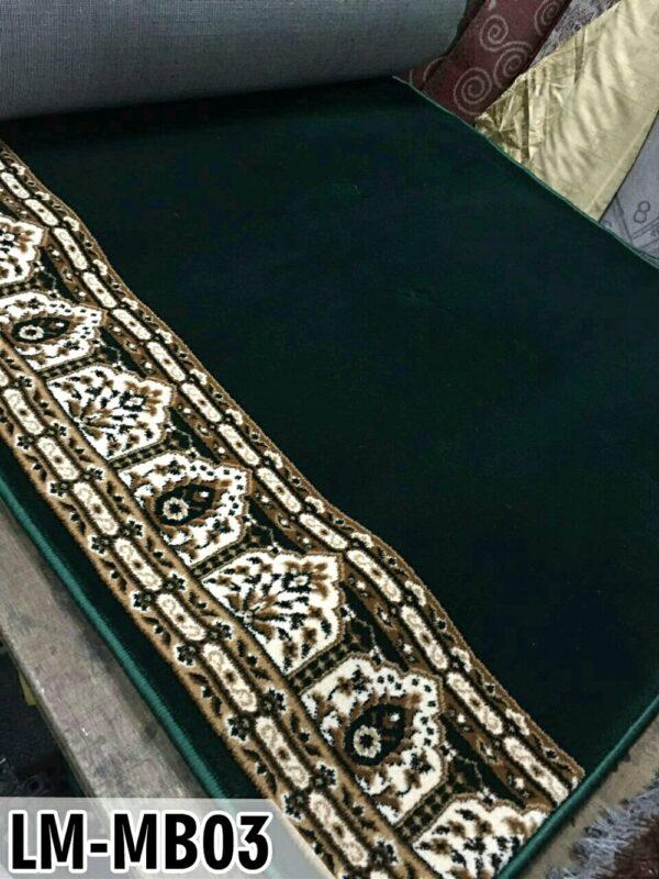 karpet masjid al maqbul hijau