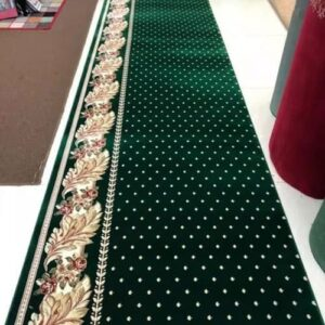 karpet masjid hagia sofia hijau