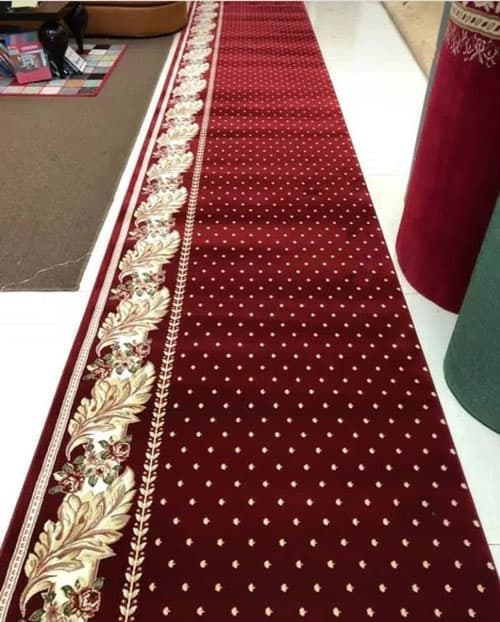 karpet masjid hagia sofia merah