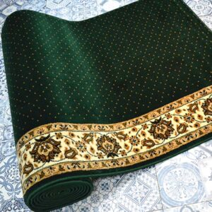 karpet masjid istiqlal hijau bintik