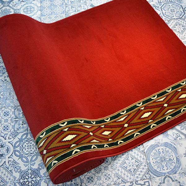 karpet masjid istiqlal merah motif3