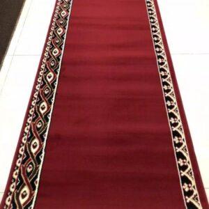 karpet masjid madeena merah