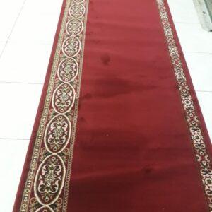 karpet masjid mecca merah