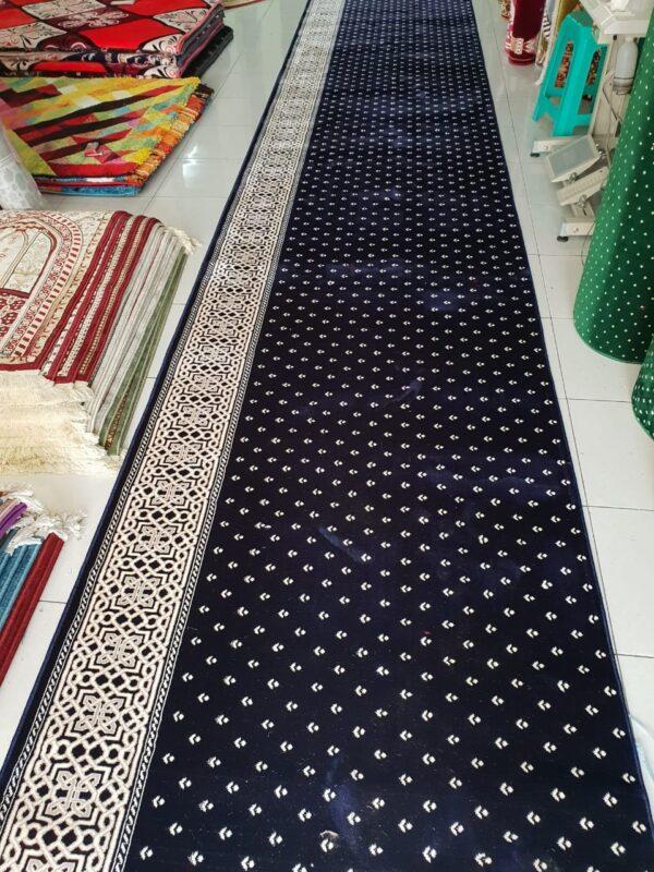 karpet masjid mirac biru
