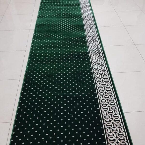 karpet masjid mirac hijau
