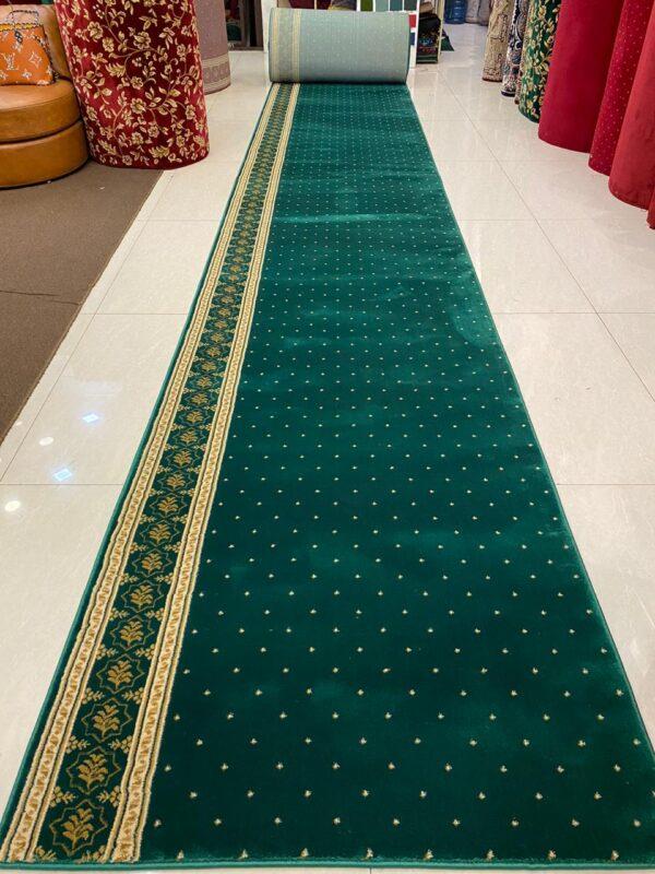 karpet masjid sahara hijau