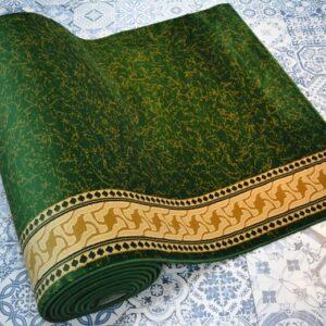 karpet masjid sultan hijau motif