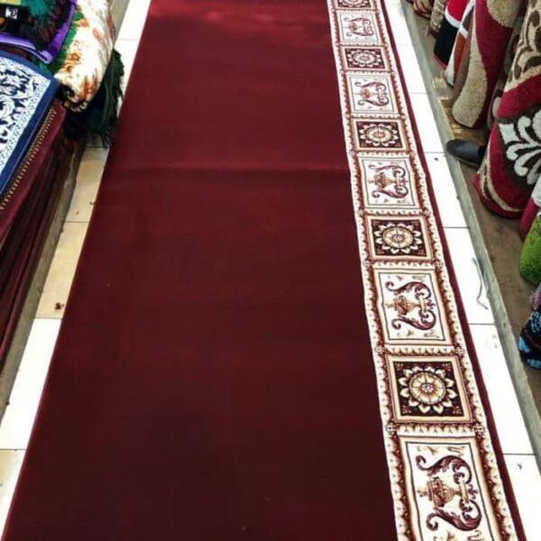 karpet masjid super tebriz merah