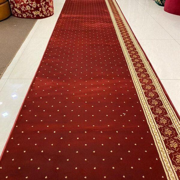 karpet masjid turki sahara merah