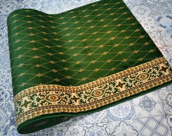 karpet masjid yafuz hijau motif bintik2