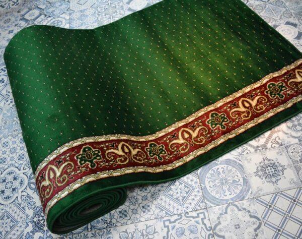 karpet masjid yafuz hijau motif bintik3