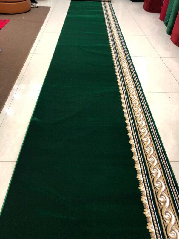 royal tebriz hijau polos