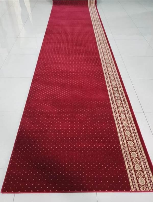 Karpet Masjid Hereke Merah