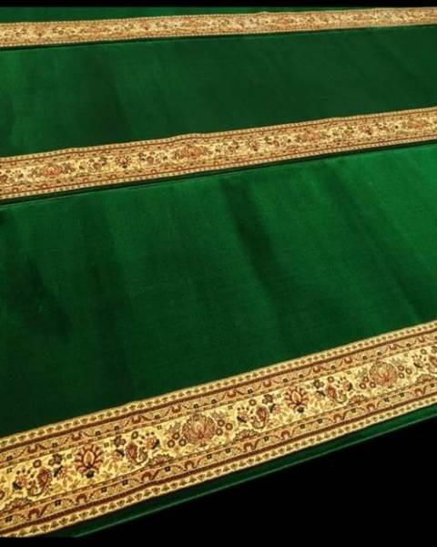 Karpet Masjid Royal Authentic Hijau Polos