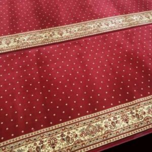 Karpet Masjid Royal Authentic Merah Bintik